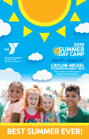 Summer Camp flyer for Caylor-Nickel.